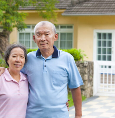 Older couple looking to downsize their home in Vancouver can get help from Concept One Financial